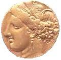 ancient coin of electrum